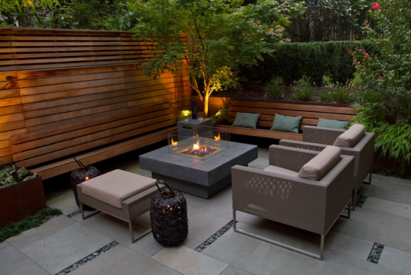 Enjoy The Views With These Stone Patio Ideas Cutting Edge Hardscapes